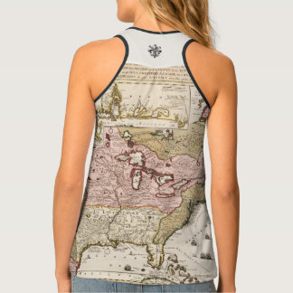 Chart Quebec America News-France by French Tank Top