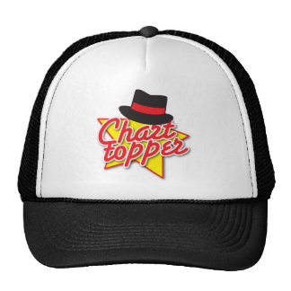CHART Topper rockabilly design Trucker Hat