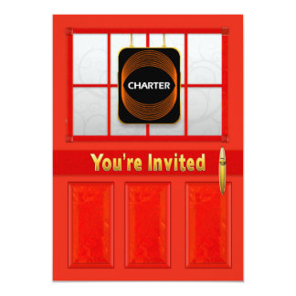 CHARTER OPEN HOUSE - PRIVATE CARD