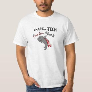 chARTer TECH Freedom Shark T-Shirt