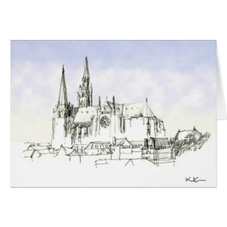 Chartres Cathedral Card