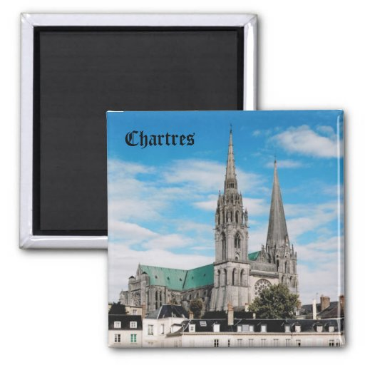 Chartres Cathedral Refrigerator Magnets