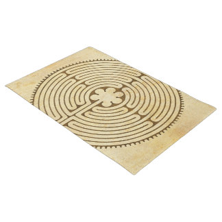 Chartres Labyrinth antique style 1 + your ideas Doormat