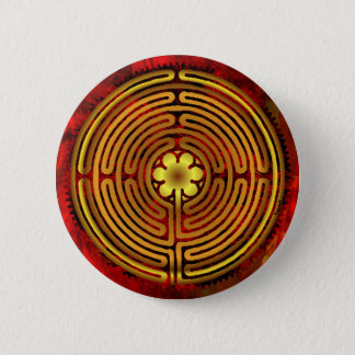 Chartres Labyrinth Fire Button
