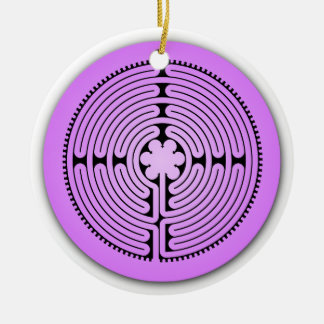 Chartres Labyrinth Ornament