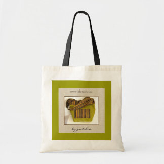 Chartreuse Glistening Leaves Tote Bag by gretchen