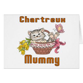 Chartreux Cat Mom Card