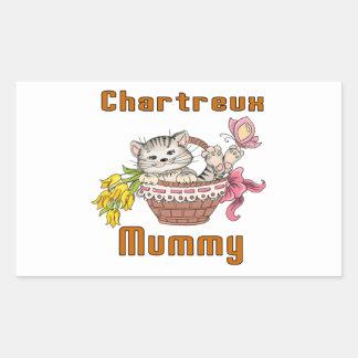 Chartreux Cat Mom Sticker
