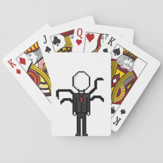"Charts ""SlenderMan "" Playing Cards"