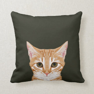 Chase - Cute tabby cat pillow for cat person gifts
