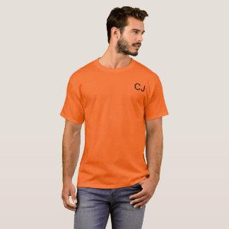 Chase Johnston orange t shirt