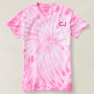 Chase Johnston pink tie dye T shirt