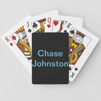 Chase Johnston playing cards