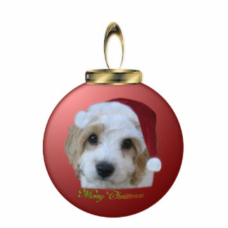 Chase Merrry Christmas Ornament Standing Photo Sculpture