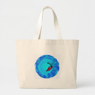 CHASE THE WILD LARGE TOTE BAG