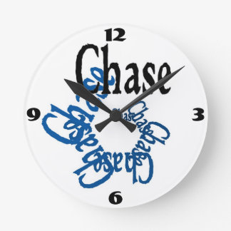 Chase Wall Clock