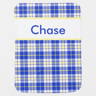 Chase's Personalized Blanket Stroller Blankets