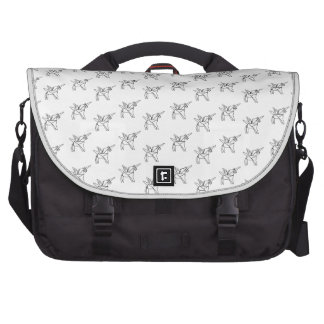 Chasin' Unicorns Geometric Crystal Unicorn Pattern Bag For Laptop
