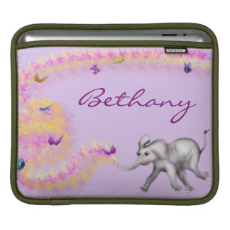 Chasing Butterflies by The Happy Juul Company iPad Sleeve