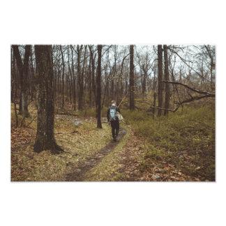 Chasing Down Brookies Photo Print