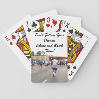 Chasing Dreams Playing Cards