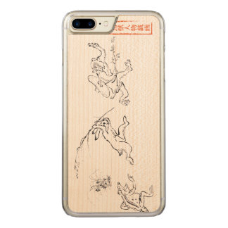 Chasing in the Choju-jinbutsu-giga Carved iPhone 7 Plus Case
