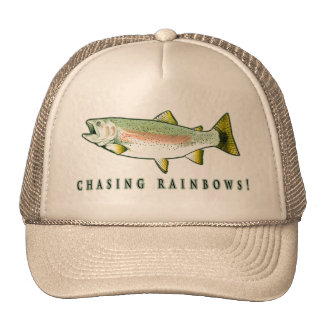 Chasing Rainbow Trout Trucker Hat