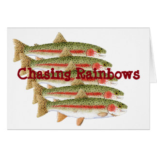 Chasing Rainbows Card