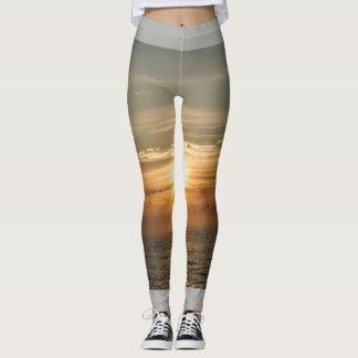 Chasing sunsets leggings