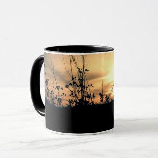 chasing sunsets mug
