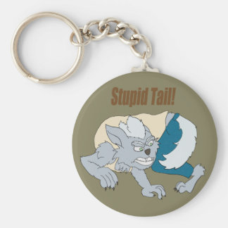 Chasing Tail Keychain