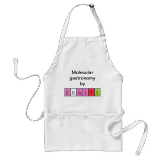 Chasity periodic table name apron