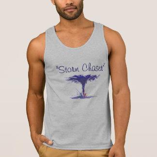 chasseur de /storm du T-shirt des hommes