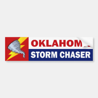 Chasseur de tempête de l'Oklahoma Autocollant Pour Voiture
