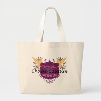 Chaste Couture Shield Large Tote Bag