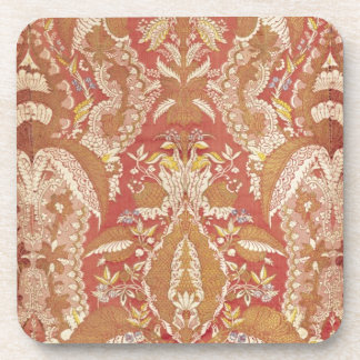 Chasuble, lace patterned silk, French, c.1720 Beverage Coasters