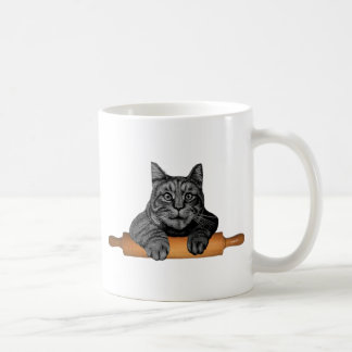 chat drôle de boulanger de purrfect mug