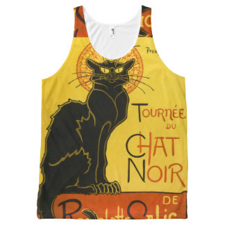Chat noir All-Over-Print tank top
