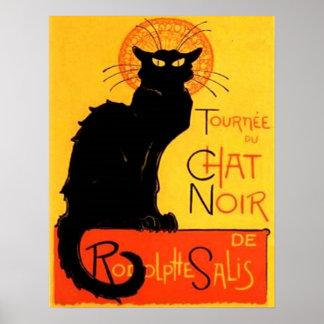 Chat Noir...Black Cat Poster