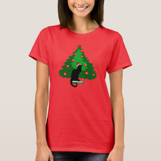 Chat Noir Christmas T-Shirt