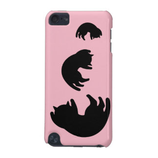 Chat noir coque iPod touch 5G