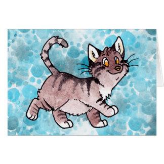 Chat tigré Kitty de Brown Cartes