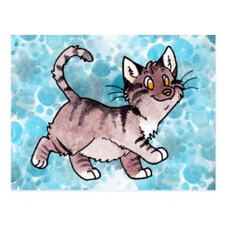 Chat tigré Kitty de Brown Cartes Postales