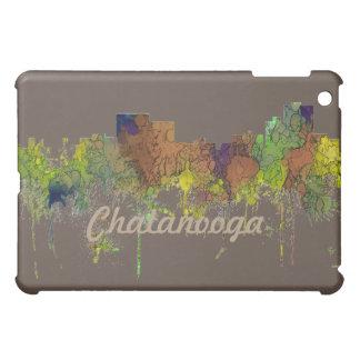 Chatanooga Tennessee Skyline Safari Buff iPad Mini Cover