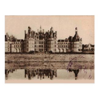 Chateau Chambord Castle  1910 Replica Vintage Postcard