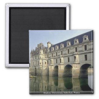 Chateau, Chenonceau, Indre/Loir, France Magnet