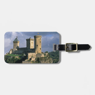 Chateau Comtal Chateau of the Counts of Luggage Tag