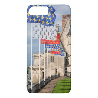 Chateau d'Amboise and flag, France iPhone 7 Plus Case