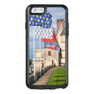 Chateau d'Amboise and flag, France OtterBox iPhone 6/6s Case
