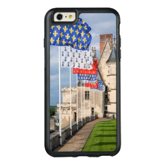 Chateau d'Amboise and flag, France OtterBox iPhone 6/6s Plus Case